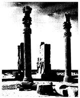 (G 24)  Iran (maxicard) Persepolis (black & White Picture) - Iran