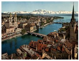 (G 24)  Suisse - Switzerland - Helvetia - Zürich - Bridges
