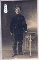 CARTE-PHOTO- CAMP DE WEIDENAU- SOLDAT ETRANGER- RECT/VERSO - Guerra 1914-18
