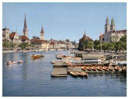 (G 24)  Suisse - Switzerland - Helvetia - Zürich - Churches & Cathedrals