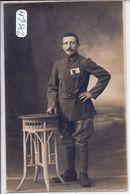 CARTE-PHOTO- CAMP DE WEIDENAU- M GALLOYERS- ORIGINAIRE DE PLESSIS AU CINQ VOUGES- COMMUNE DE BEAUCHENE- 41- - Guerra 1914-18