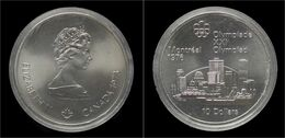 Canada 10 Dollar 1973- Montreal Olympics 1976 Proof - Canada