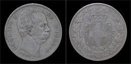 Italy Umberto I 5 Lire 1879R - 1861-1946 : Kingdom