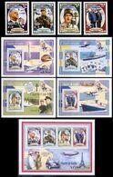 République Démocratique Du Congo - 2681/2684 + B642/645 + BL646 - Charles De Gaulle - 2012 - MNH - Democratic Republic Of Congo (1997 - ...)