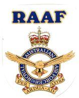 (G 25) Stickers / Autocollan - Australian RAN (Navy)  Navy + RAAF (2 Stickers) - Other