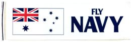 (G 25) Stickers / Autocollan - Australian RAN (Navy) HMAS Melbourne & Fly Navy - Other