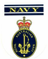 (G 25) Stickers / Autocollant - Australian RAN (Navy) Navy (2 Stickers) - Other