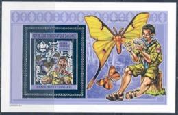 République Démocratique Du Congo - BL721 - Scoutisme & Papillons - Argent/Silver - 2012 - MNH - Democratic Republic Of Congo (1997 - ...)