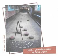 LEERS NORD, CERCLE SAINT LOUIS, LA BOURLOIRE SITE CLASSE, JEUX DE BOURLES, PAP ENTIER POSTAL FLAMME 2008, VOIR LES SCANS - Games
