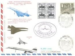(G 21) FDC / Premier Jour - Vatican City - 1973 - Concorde Roma - Concorde