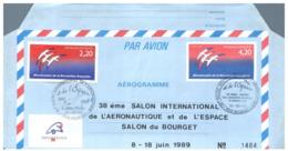 (G 21) FDC / Premier Jour - France - 1989 - Aerogramme - Concorde