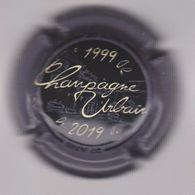 Capsule Champagne URBAIN Père & Fils ( 49b ; 1999-2019 , Noir Et Crème Contour Gris 20 ANS ) 8€ {S34-20} - Non Classés