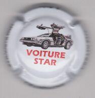 Capsule Champagne URBAIN Père & Fils ( Nr ; Voiture STAR : La DeLorean De Retour Vers Le Futur , Fond Blanc ) {S34-20} - Non Classés
