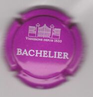 Capsule Mousseux ( Nr ; BACHELIER , Crèmant De Bourgogne ) {S34-20} - Sparkling Wine