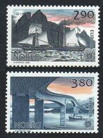 1988Norway996-997Europa Cept / Ships With Sails4,00 € - 1988