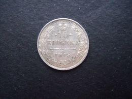 RUSSIE = 1 PIECE  DE 10 KOPEKS  DE 1915  EN ARGENT - Rusland
