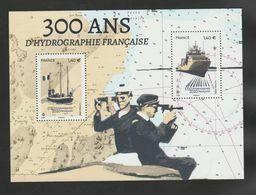 """FRANCE / 2020 / Y&T N° 5398/5399 ? ** Bloc Ou F5398 ** ? (Feuillet """"300 Ans D'hydrographie Française"""") X 1 - Blocs & Feuillets"""