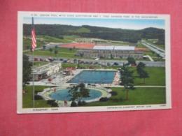 Legion Pool With Civic Auditorium  Kingsport  Tennessee > >  Ref 4266 - Autres