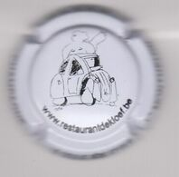 Capsule Champagne LEGOUIVE Père & Fils ( 15 ; Restaurant DEKLOEF , Capsule Belge ) {S34-20} - Champagne