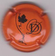 Capsule Champagne DEHEURLES Daniel ( 40d ; Orange Et Noir ) {S34-20} - Non Classés