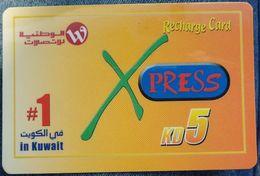 KUWAIT - 5 KD - Xpress - Kuwait