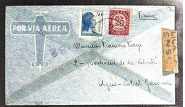 35280 - De MADRID Avec Censure - 1931-50 Briefe U. Dokumente