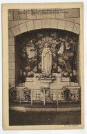 (RECTO / VERSO) LA CHAPELLE BASSE MER EN 1940 - INTERIEUR DE L' EGLISE - STATUE DE SAINTE THERESE - CPA - La Chapelle Basse-Mer
