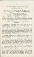 Halluin, Haelewijn, Izegem, 1955, Marie Vancoillie, Verschaeve - Imágenes Religiosas