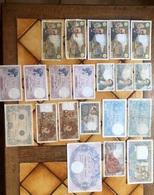 Lots De 51 Billets - 1871-1952 Antichi Franchi Circolanti Nel XX Secolo
