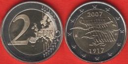 "Finland 2 Euro 2007 ""Independence"" BiMetallic UNC - Finland"