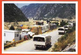 Euc138 Entre MOSTAR Et JABLANICA 27-02-1996 SARAJEVO Convois Poste Espagnol Bordure NERETVA Pakistanais Route Vers TUZLA - Bosnien-Herzegowina