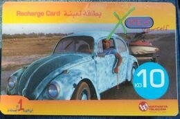 KUWAIT - 10 KD - Xpress Wataniya Telecom Car - Kuwait
