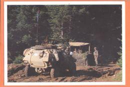 Euc140 Mont IGNAM SARAJEVO Bosnie Herzegovine Poste Français Dans La Forêt BOSNIAQUE Mostar 26-11-1995 Guerre Yougoslav - Bosnia Erzegovina
