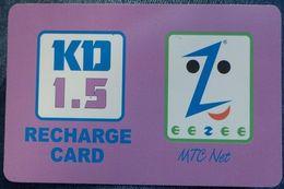 KUWAIT -1. 5 KD - Eezee Mtc  Net - Kuwait