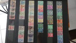 H118 Collection De Timbres Oblitérés De Différents Pays.  A Saisir !!! - Collections (with Albums)