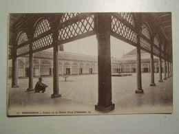 DAFRIQUED MAROC  MARRAKECH Palais De La Bahia  Cour D Honneur - Marrakech