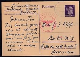 Dt. Besetzung 2. Weltkrieg, Ostland, Mi.-Nr. P 2 Gelaufen. - Occupation 1938-45