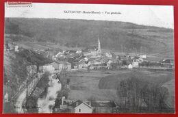 Cpa 52 SAUCOURT Vue Generale Pas Courant  Partie D Usine Et Village - Sonstige Gemeinden