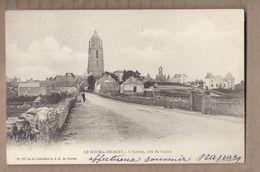 CPA 44 - LE BOURG-de-BATZ - L'Arrivée , Côté Du Croisic - TB PLAN Route Perspective Vers Centre Village CP Voyagée 1903 - Batz-sur-Mer (Bourg De B.)
