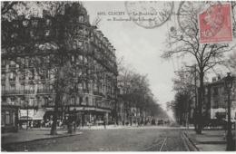 CLICHY - LE BOULEVARD VICTOR-HUGO AU BOULEVARD DE LORRAINE - BELLE ANIMATION - 1928 - Clichy