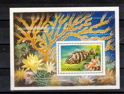 DOMINIQUE  Timbre Neuf ** De 1975  ( Ref 7004 ) Animaux Marins - Poissons  - - Dominica (1978-...)