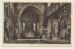 AK  St. Josefs Pfarrkirche Hermsdorf über Waldenburg Schlesien 1934 - Schlesien