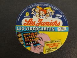 Etiquette De Fromage Fondu Les Juniors Les Videocartes - Cheese