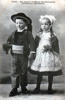 CPA - En Allant à La Messe Des Rameaux, Enfants De Châteaulin - - Costumes