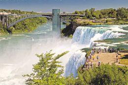 USA - Niagara Falls - Aerial View - NY - New York
