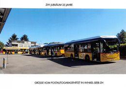 Winkel - Seeb  Postauto Q  Limitierte Auflage! - ZH Zurich