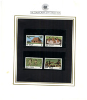 (special) The Commonwealth Collection - Mint Stamps / Timbres Neuf (size 24 X 26cm) Fiji - History
