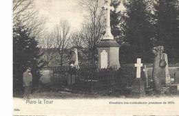 Mars La Tour-cimetiere Prussien De 1870,dos Cachet Hotel Du Commerce ,simon Colette - Autres Communes