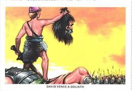 TH DAVID ET GOLIATH - David Avec La Tête De Goliath - Animée - Belle - Carnevale