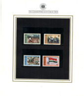 (special) The Commonwealth Collection - Mint Stamps / Timbres Neuf (size 24 X 26cm) Seychelles - History